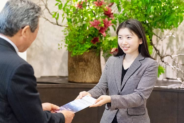 Our concierges are more than happy to support you in your daily life.